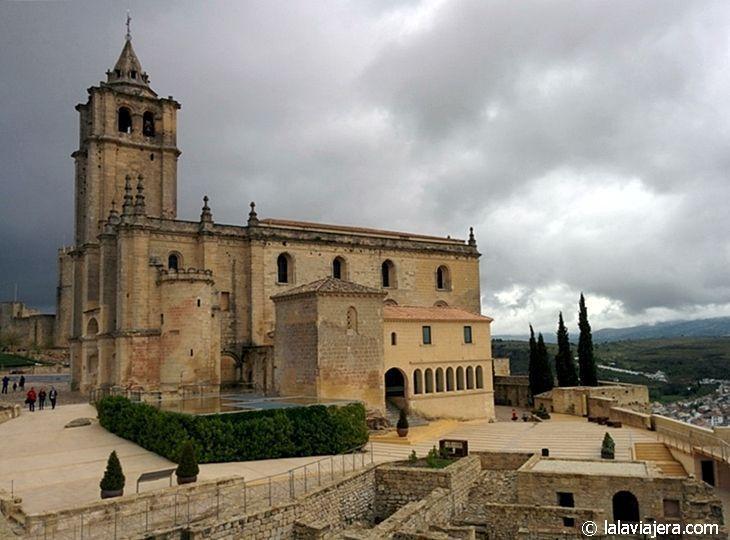 Iglesia Abacial de la Fortaleza de la Mota, Alcalá la Real, Jaén