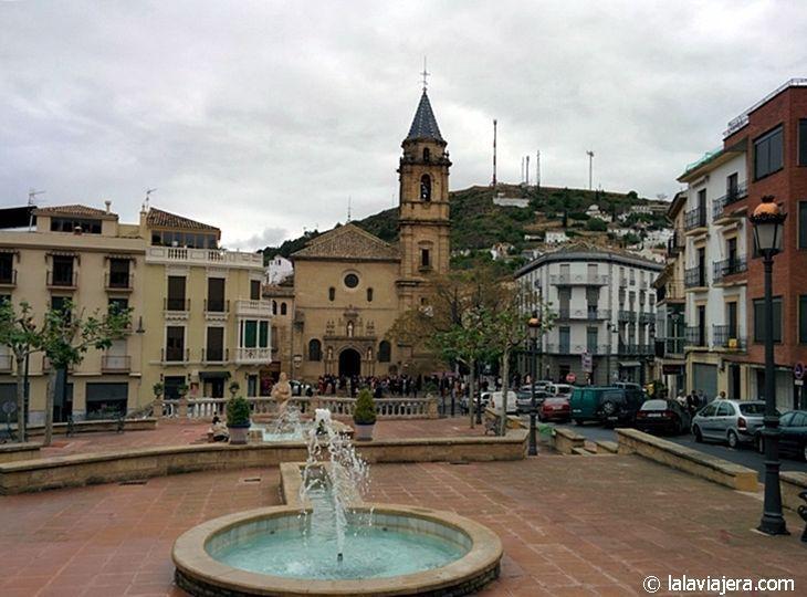 Casco histórico de Alcalá la Real (Jaén): Iglesia de la Consolación o de Santa María la Mayor