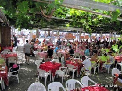 Chiringuito Ayo, Playa Burriana, Nerja, Malaga