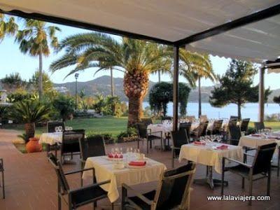 Terraza Restaurante Naranjos, Hotel Rural Vinuela, Malaga