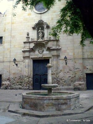 San Felipe de Neri, Barrio Gotico Barcelona