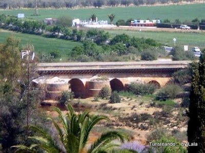 puente romano sobre río Tinto, Niebla