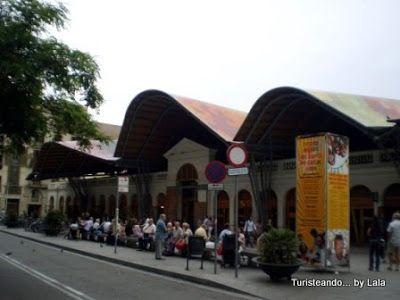 mercado santa caterina, barcelona