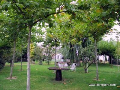 Jardines Villa Lucia, Laguardia Rioja Alavesa