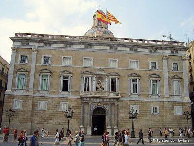 Generalitat Catalunya, Plaza Sant Jaume Barcelona