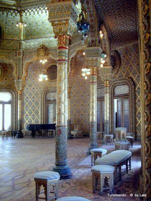 salon arabe palacio bolsa, oporto