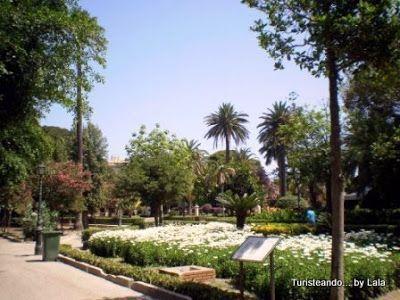 jardines villa margherita, trapani