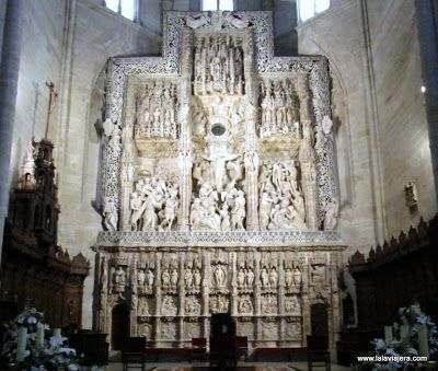 Retablo Damian Forment, Catedral Huesca