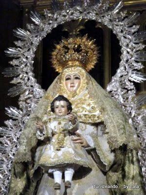 virgen santa maria del aguila, alcala de guadaira