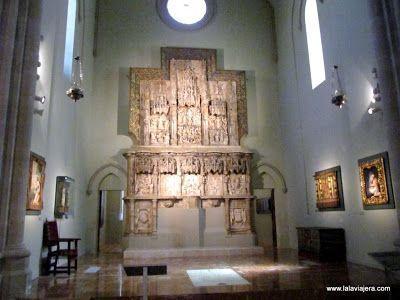 Retablo Montearagón, Museo Diocesano Huesca
