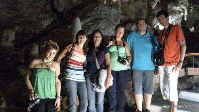 Blogueros Axarquiatrip Cueva Nerja, Malaga