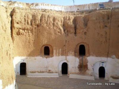 Casa Troglodita de Matmata, Tunez