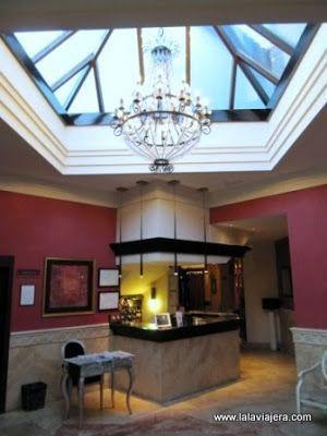 Recepcion Hotel Rural Viñuela, Malaga