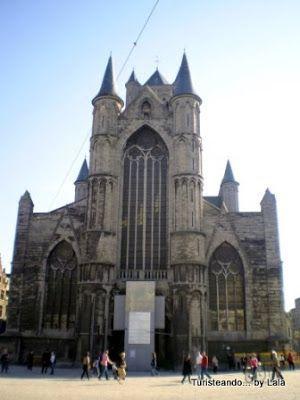 iglesia san nicolas, gante