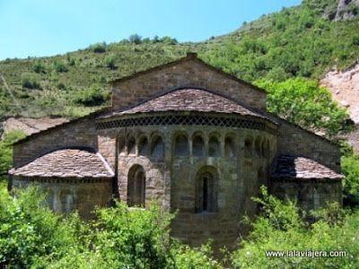 Absides Monasterio Obarra, Ribagorza, Huesca