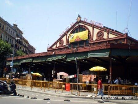 Los mercados mas famosos de barcelona lala viajera - Mercados de segunda mano barcelona ...