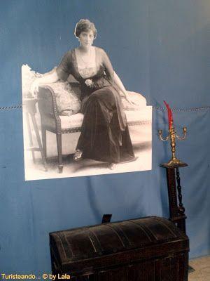 Ellen Mary Whishaw en castillo de niebla, huelva