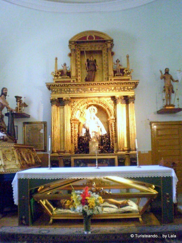 capilla angustias, la baneza