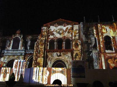 Espectaculo luz y sonido San Isidoro, Leon