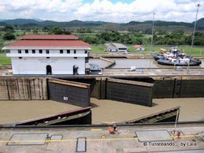 Esclusas Miraflores Canal Panamá