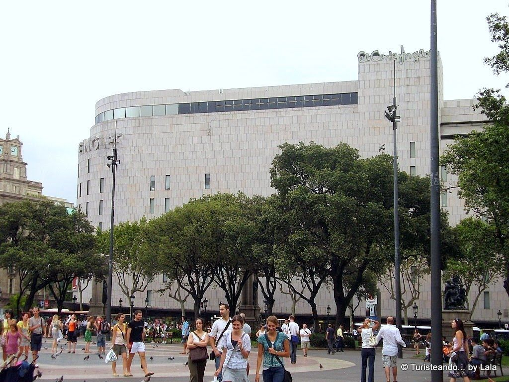 corte ingles plaza cataluna