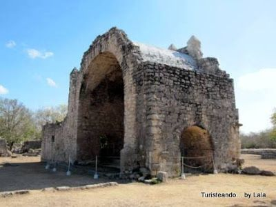 capilla abierta Dzibilchaltun, yucatan