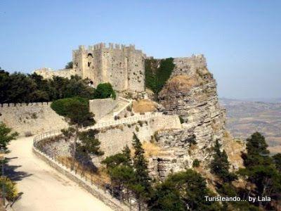 Castillo de Erice, Sicilia