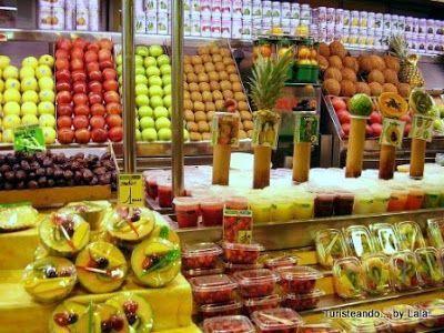mercado la boqueria, san jose, barcelona