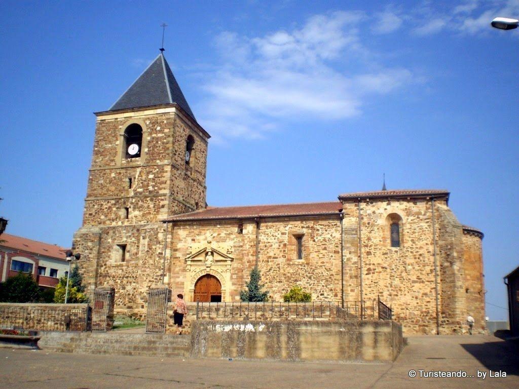 iglesia san salvador, la baneza