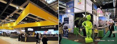 Turismo Canarias y Turismo Belgica en Fitur