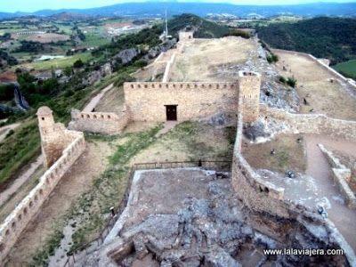 Murallas Castillo Benabarre, Ribagorza, Huesca
