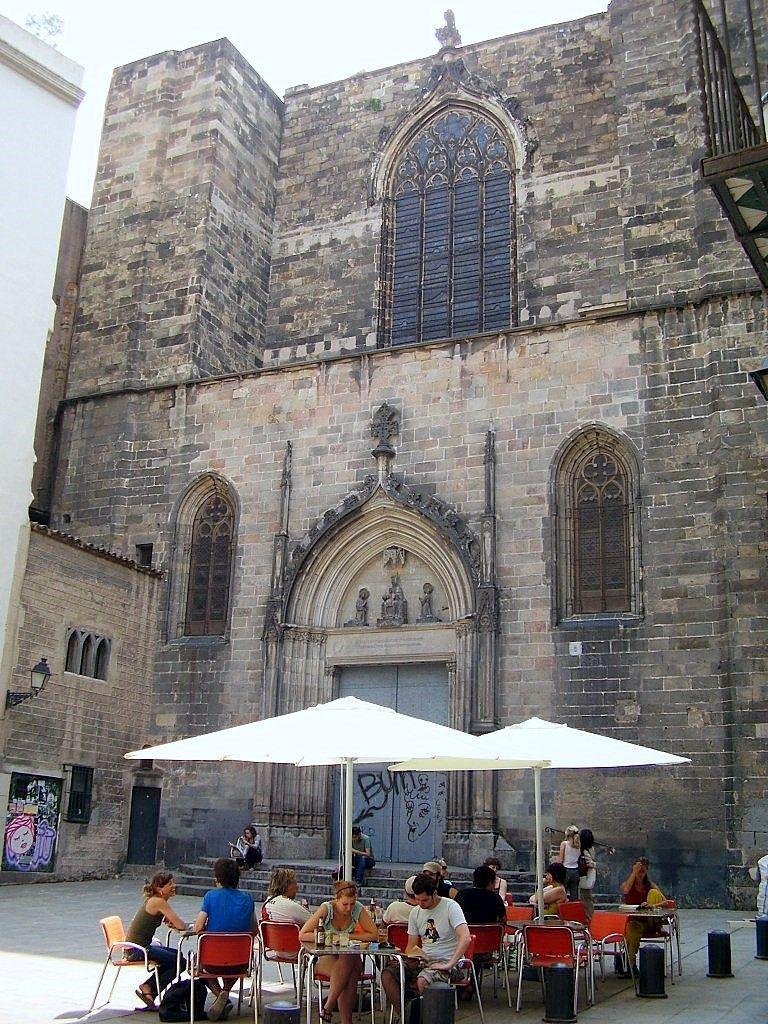 Iglesia de los Santos Justo y Pastor, Barcelona