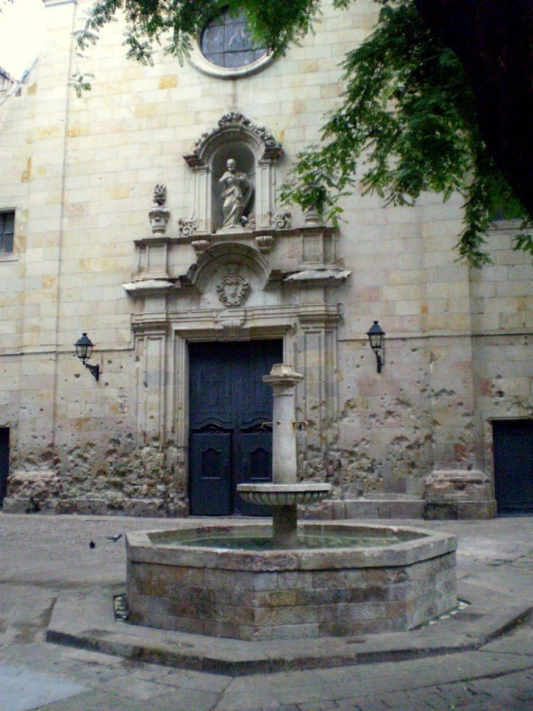 Iglesia de San Felipe de Neri, Barcelona