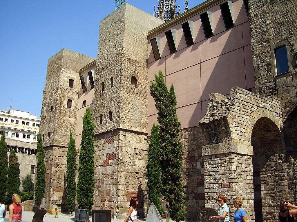 Murallas del Barrio Gotico de Barcelona