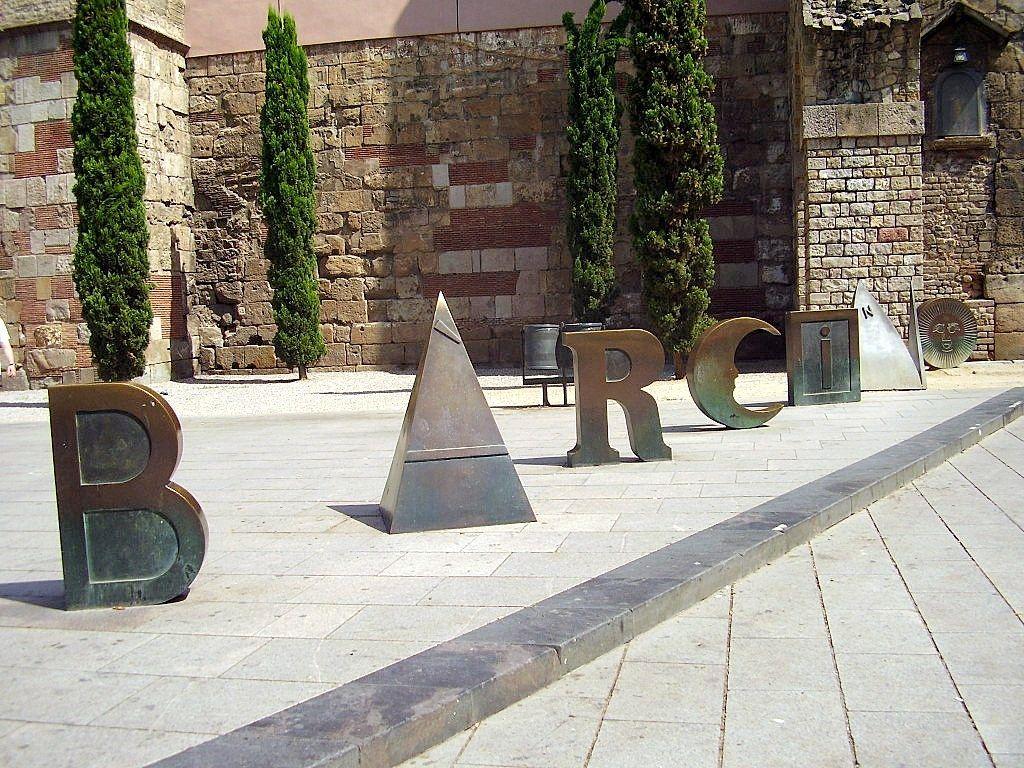Barcino, muralla romana de Barcelona