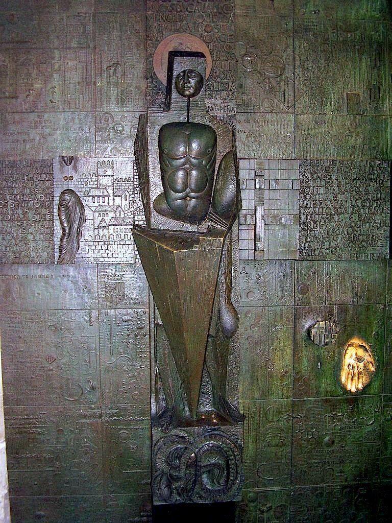 Puerta de Sant Jordi, en el Palau del Lloctinent
