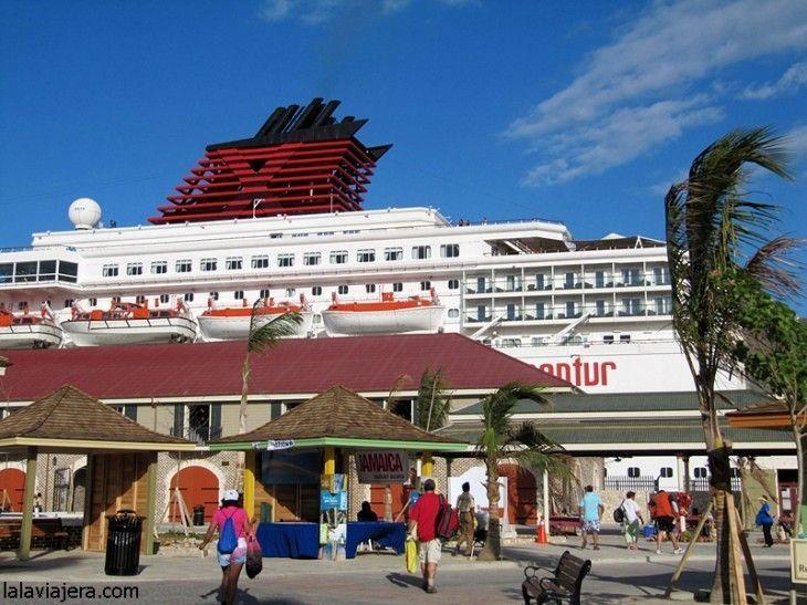 Terminal de cruceros del puerto de Falmouth, Jamaica