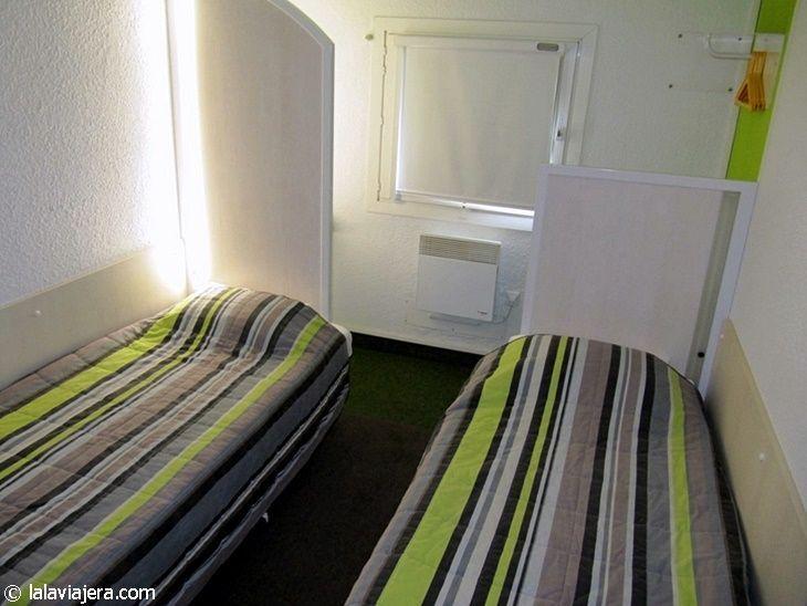 Habitación del Hotel Formule1 Carcassonne