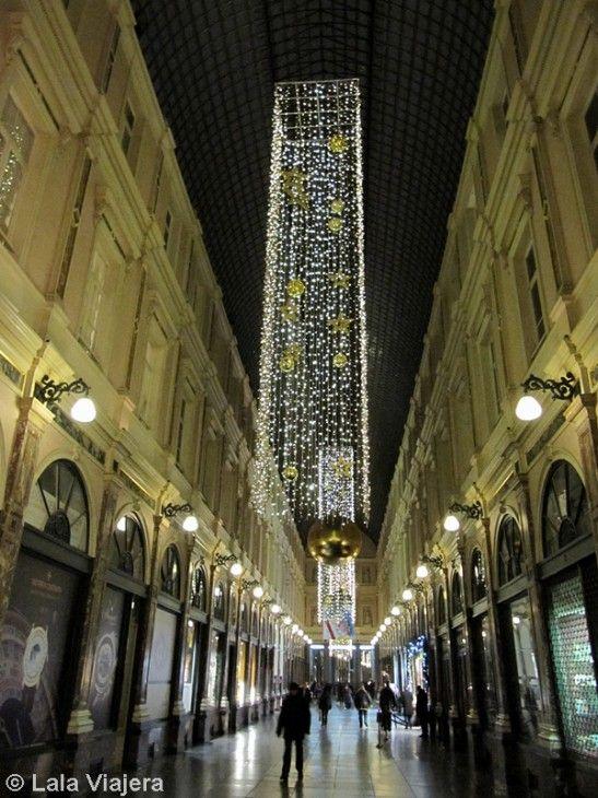 Iluminación navideña de las Galerias Hubert, Bruselas