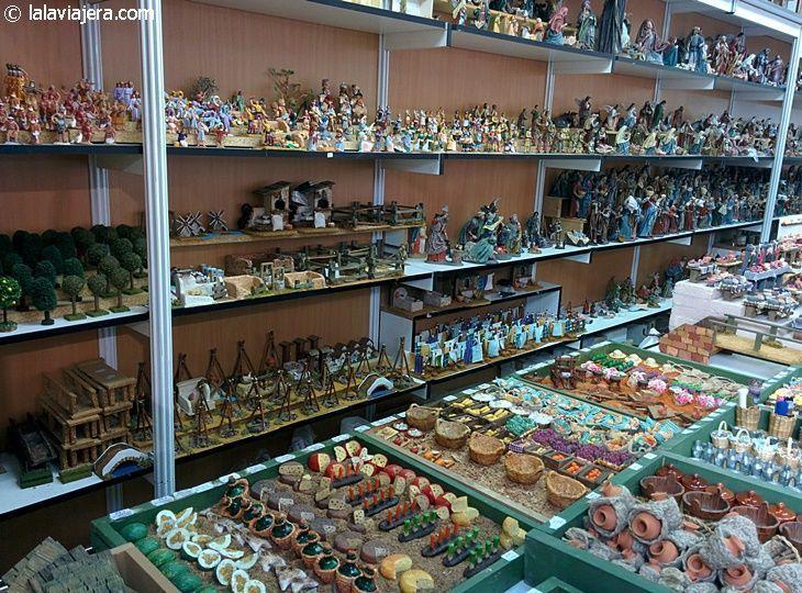 Feria artesanal de belenes en Sevilla