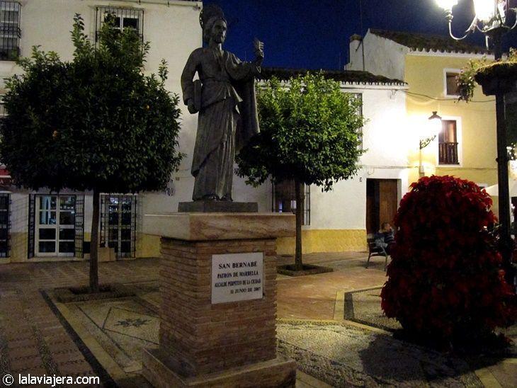Escultura de San Bernabé, patrón de Marbella