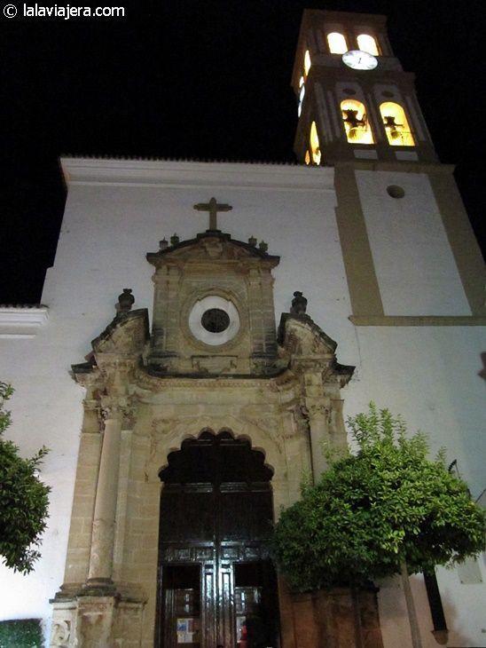 Iglesia de la Encarnación en el casco histórico de Marbella