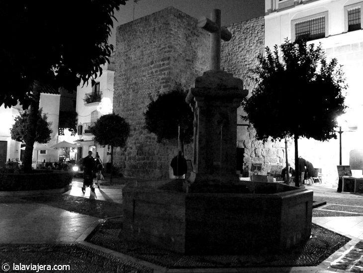 Murallas de la alcazaba árabe de Marbella