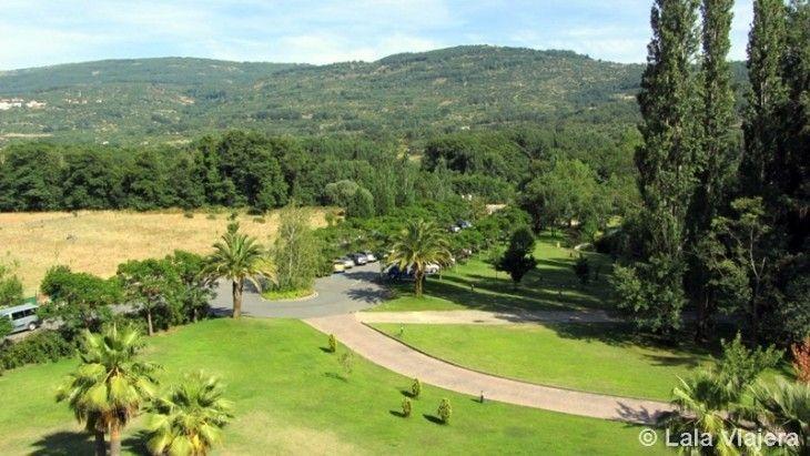 Vistas desde la Habitación del Hotel Balneario Valle del Jerte