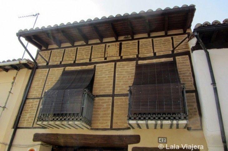 Casas de entramado en Jerte