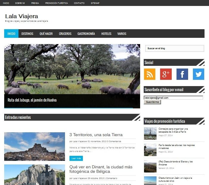 LalaViajera Blog de Viajes