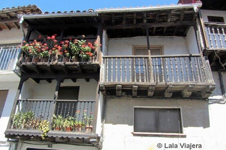 Arquitectura típica de los pueblos del Valle del Jerte