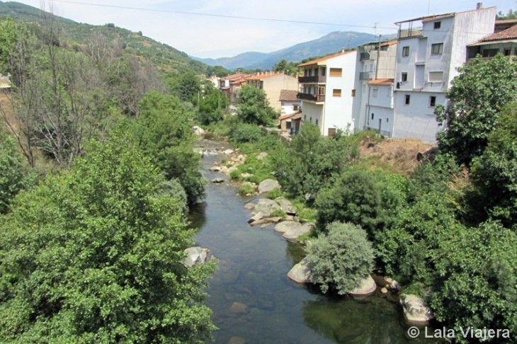 Río Jerte en Cabezuela del Valle