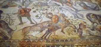 Visita a la villa romana de La Olmeda