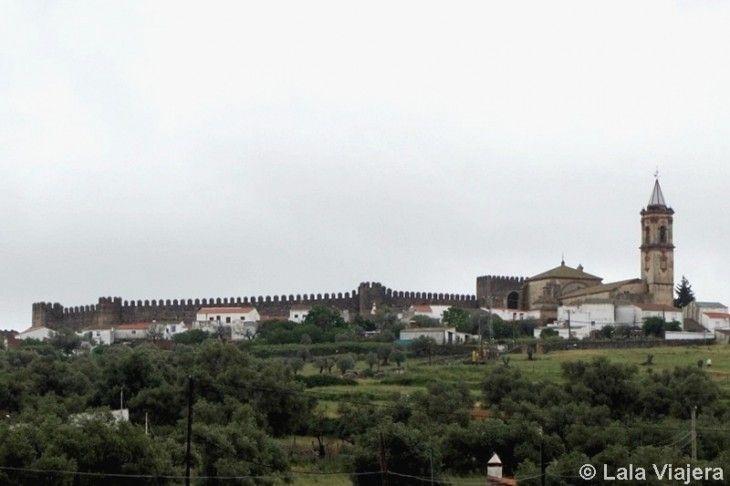 Panorámica de Cumbres Mayores, Huelva